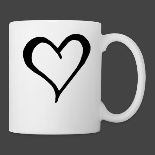 Heart Sketch - Coffee/Tea Mug