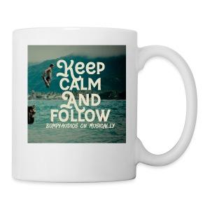 Keep Calm and Follow BumpyAudios on Musical.ly - Coffee/Tea Mug