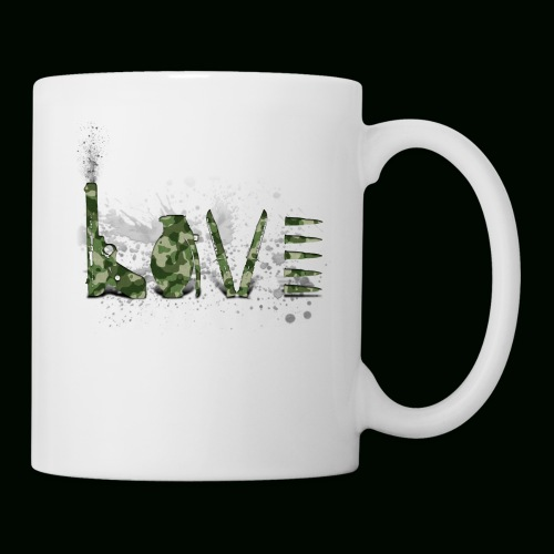Love and War - Army - Coffee/Tea Mug