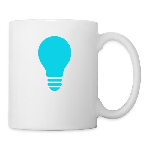 Quitz Blue w/ white text - Coffee/Tea Mug