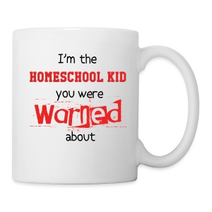 Homeschool Kid Warning - Coffee/Tea Mug