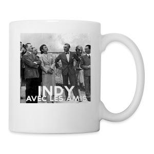 Indy avec les amis - Coffee/Tea Mug