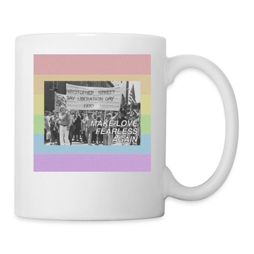 make love fearless again pins - Coffee/Tea Mug