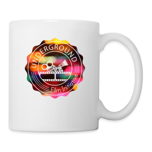 Underground_Film_Initiative_Logo_Colour_Pop_Bokeh - Coffee/Tea Mug