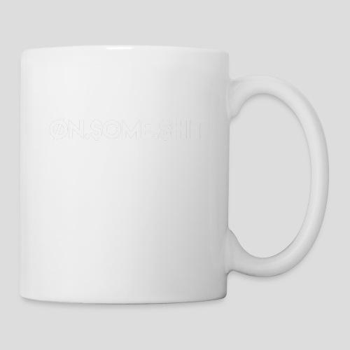 ON SOME SHIT Logo (White Logo Only) - Coffee/Tea Mug