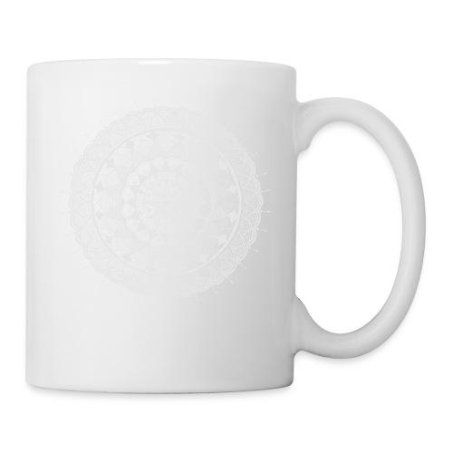 mandala white - new art - Coffee/Tea Mug