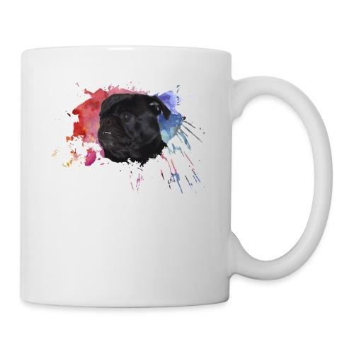 Pug Paint Splatter - Coffee/Tea Mug