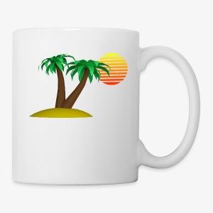Palm Trees and Sun - Coffee/Tea Mug