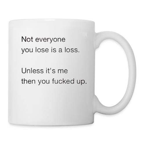 Getting Over - Coffee/Tea Mug