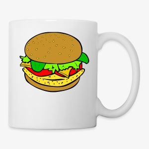 Comic Burger - Coffee/Tea Mug
