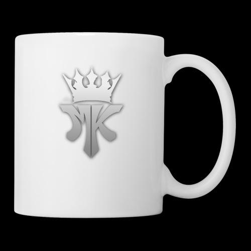 MK orignal logo gray - Coffee/Tea Mug