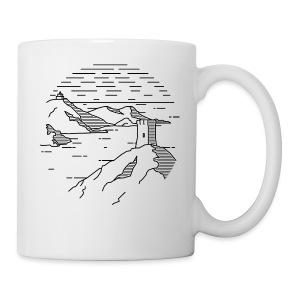 Line landscape - Sea - Coffee/Tea Mug
