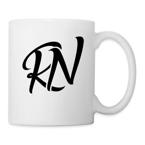 RomanNation Black (RN) - Coffee/Tea Mug