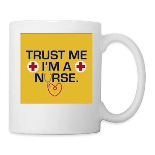 Trust me im a nurse tee - Coffee/Tea Mug