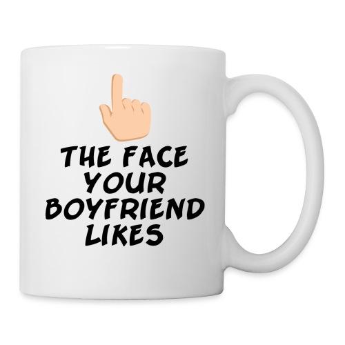 The face your boy friend likes - Coffee/Tea Mug