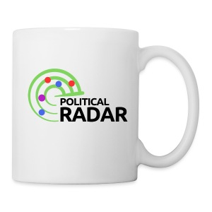 Political Radar Logo - Black - Coffee/Tea Mug
