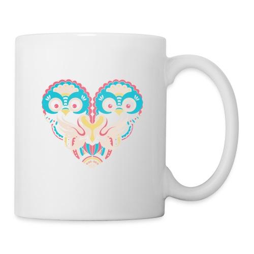hearts of owls - Coffee/Tea Mug