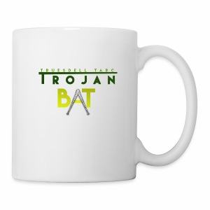 New Trojan Bat Logo - Coffee/Tea Mug