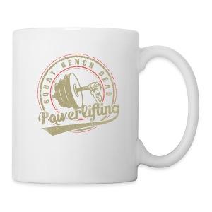 powerlifting - Coffee/Tea Mug