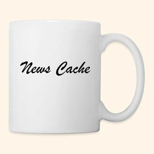 News Cache Black - Coffee/Tea Mug