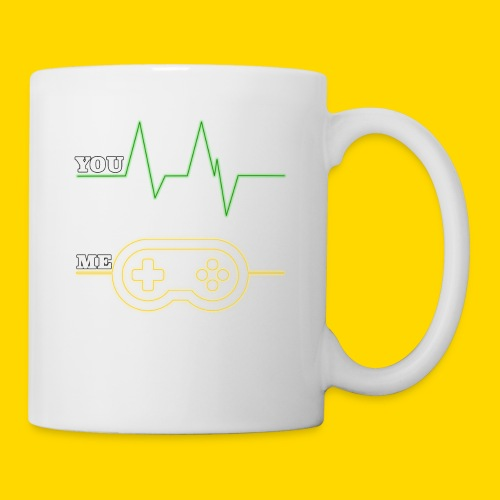 Gamer Heart beat - Coffee/Tea Mug