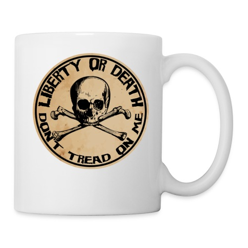 Liberty or Death Dont Tread On Me - Coffee/Tea Mug