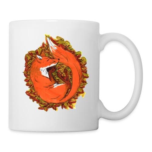 Sleepy fox - Coffee/Tea Mug