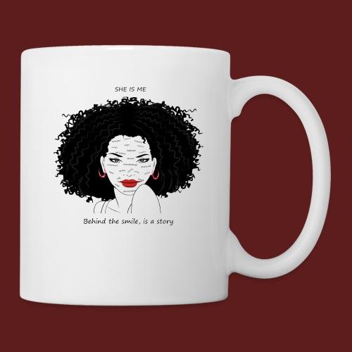 A T-shirt design all women can relate to. - Coffee/Tea Mug
