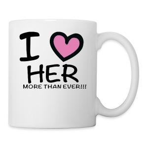 ILOVEHER - Coffee/Tea Mug