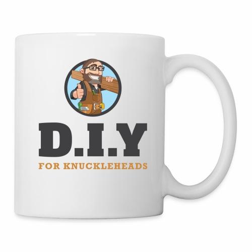 DIY For Knuckleheads Logo. - Coffee/Tea Mug