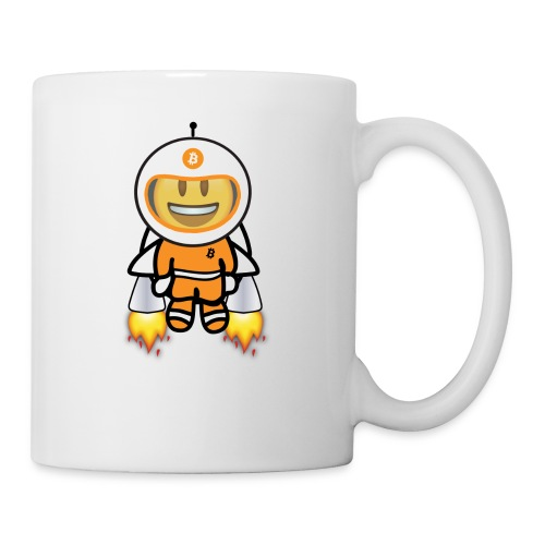 Bit for Buck: Buck's Happy Jetpack Coffee Mug - Coffee/Tea Mug
