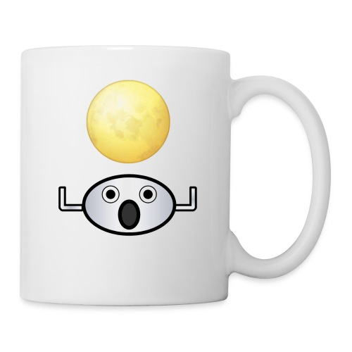 Bit for Buck: Moonguy Coffee Mug - Coffee/Tea Mug
