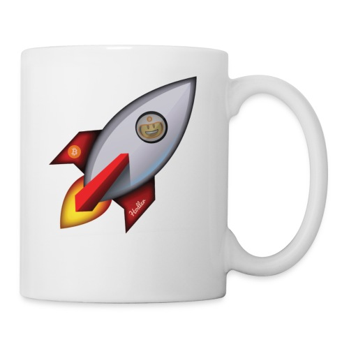 Bit for Buck: Hodler Rocket Coffee Mug - Coffee/Tea Mug
