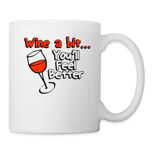 wine a bit - Coffee/Tea Mug