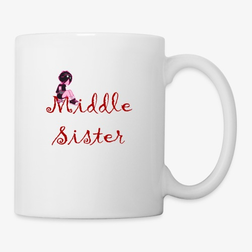 Middle Sister T-Shirt - Coffee/Tea Mug
