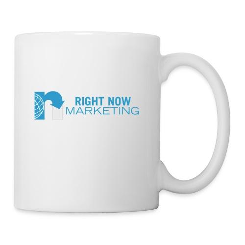 Right Now Marketing Full Logo - Coffee/Tea Mug