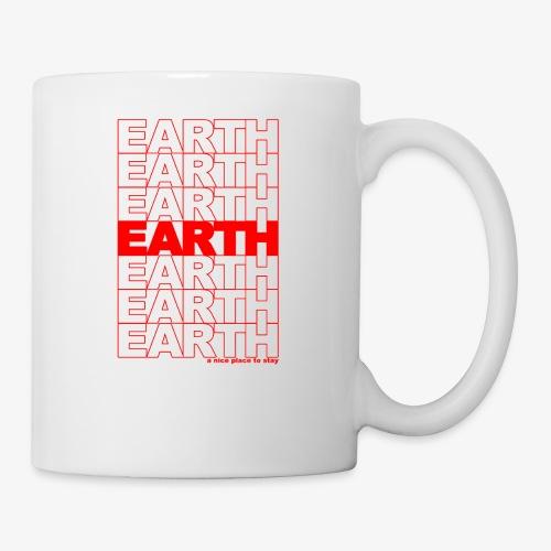 earth - take out - Coffee/Tea Mug