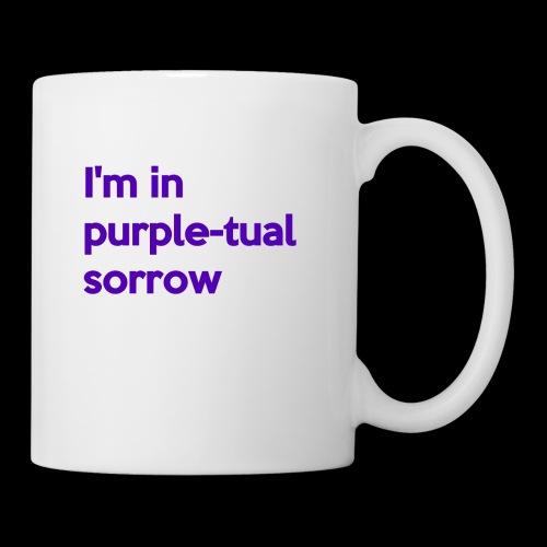 Purple-tual sorrow - Coffee/Tea Mug