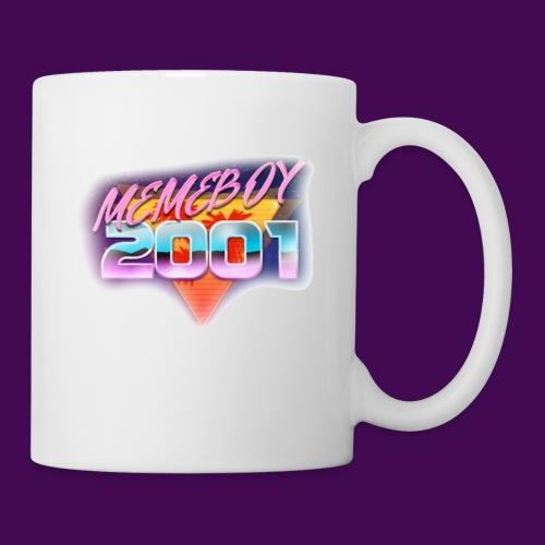 Memeboy 2001 logo - Coffee/Tea Mug