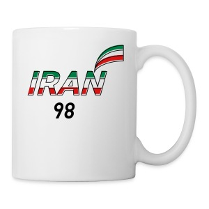 Iran's France 98 20th Anniversary Tee - Coffee/Tea Mug
