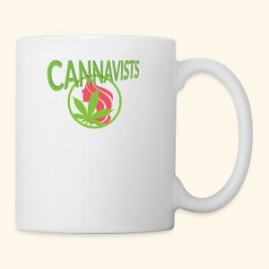 CANNAVIST logo - Coffee/Tea Mug