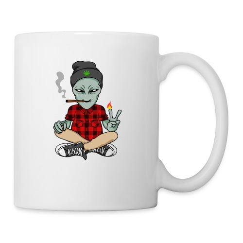 NUGZ THE ALIEN Mascot 4 TOO HIGH CLUB CLOTHING Co. - Coffee/Tea Mug