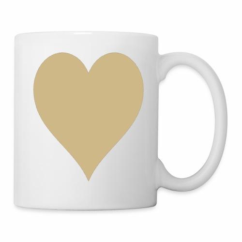 Gold Heart - Coffee/Tea Mug