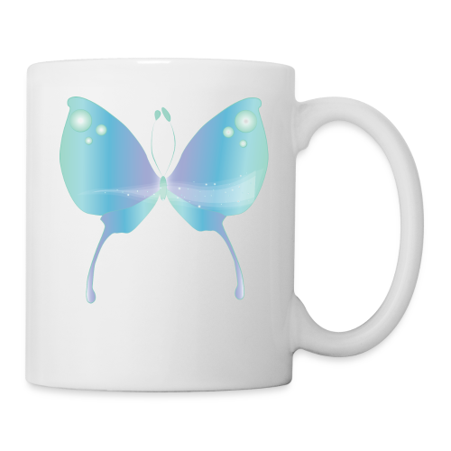 Blue Magik Butterfly - Coffee/Tea Mug