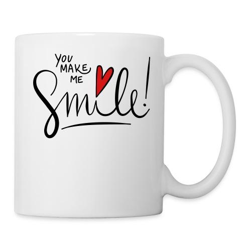 You make me smile Front - Coffee/Tea Mug