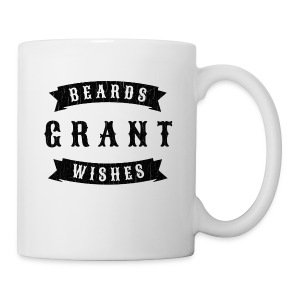 Beards grant wishes, black - Coffee/Tea Mug