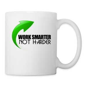 Work Smarter Not Harder - Coffee/Tea Mug