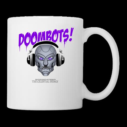 DOOMBOTS (The Celestial Beings Audio Comic Book) - Coffee/Tea Mug