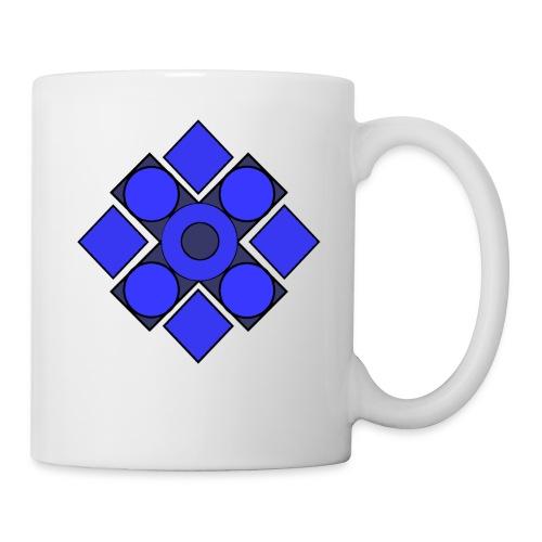 Geometric Cerulean - Coffee/Tea Mug