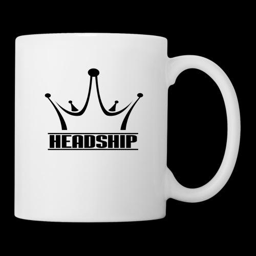 HEADSHIP black - Coffee/Tea Mug
